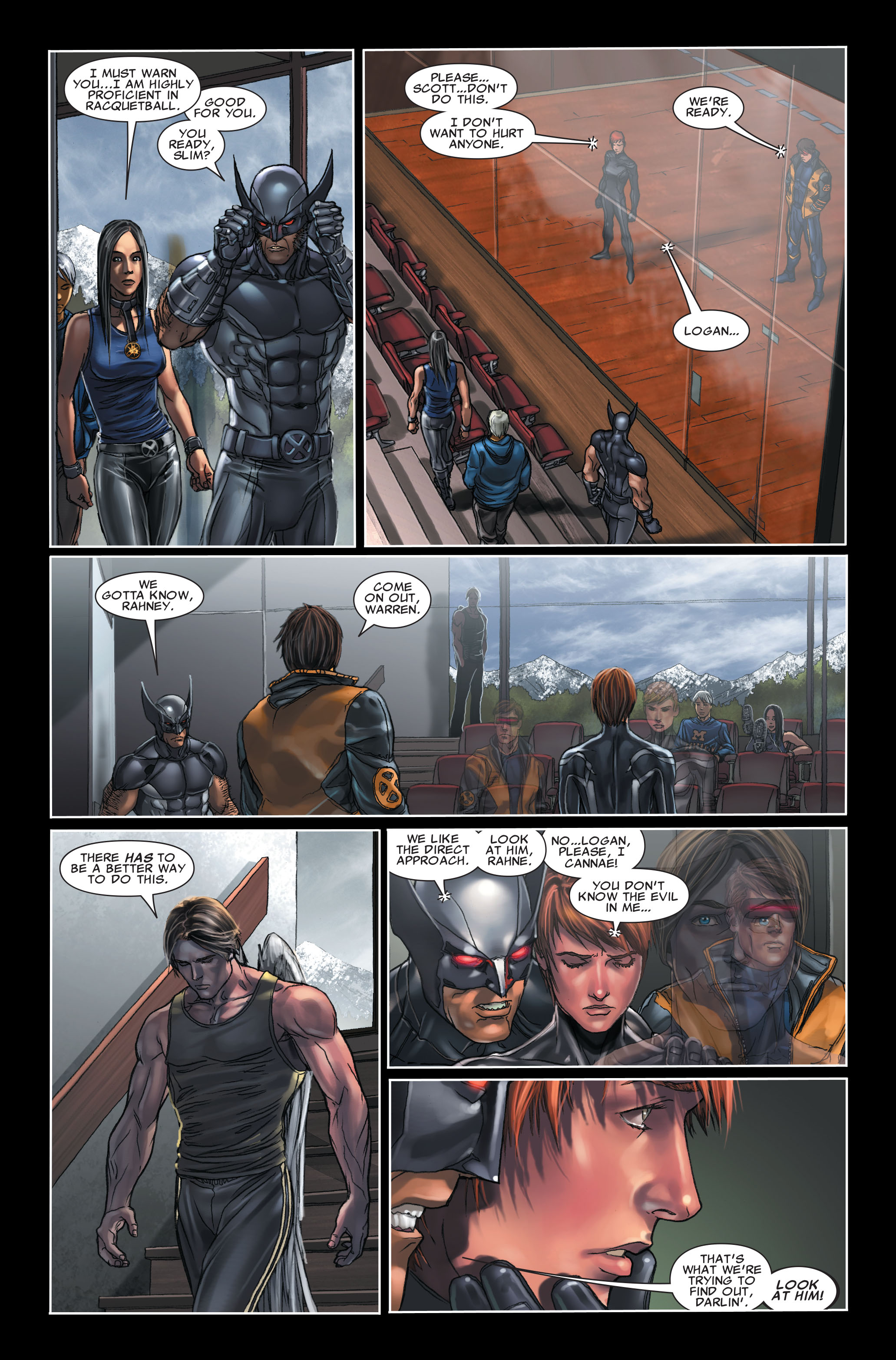 Read online X-Force (2008) comic -  Issue #7 - 6