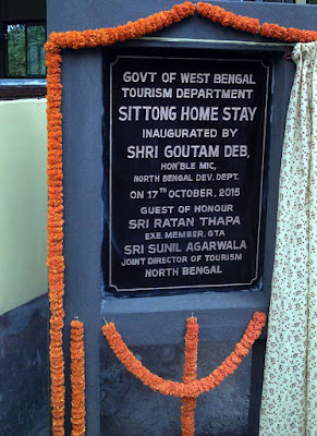Sittong Home stay inaugurated by Gautam deb north bengal dev minister
