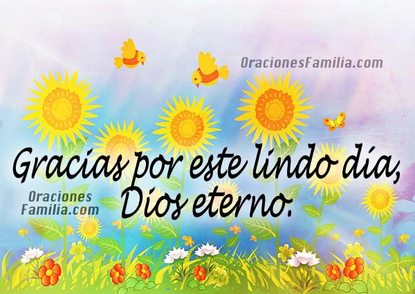 4 Bonitas oraciones para la mañana,   de gracias a Dios por este día, oración   antes de levantarse y antes   de ir al trabajo por Mery Bracho