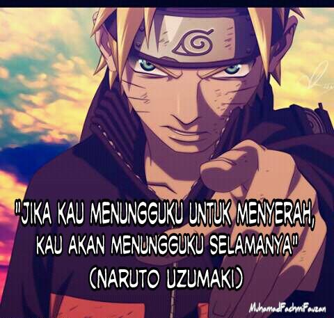 Mi Zan Blog Kumpulan Kata Kata Bijak Anime Naruto