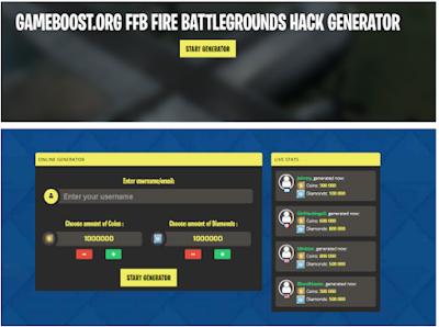 Gameboost Org FFB Free Fire Battlegrounds Hack Diamond 2019