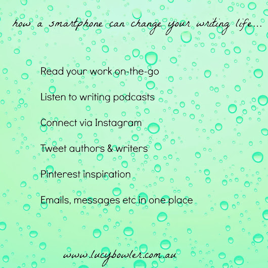how a smartphone can change your writing life...