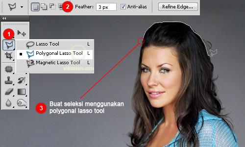 Belajar Desain Grafis Tutorial Photoshop Menghaluskan Tepian Seleksi