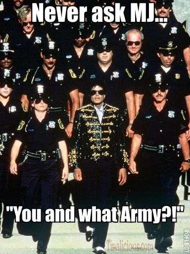 Michael Jackson Army Meme