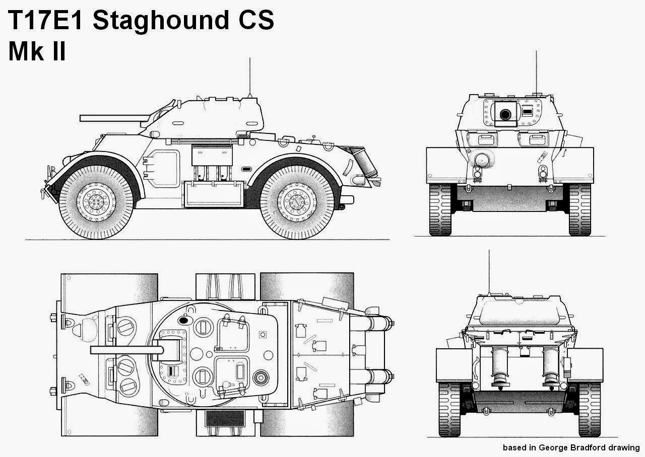 Armored Cars Diagrams