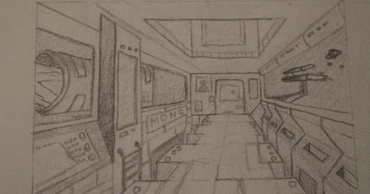 1 Point Perspective.