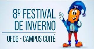 8º Festival Universitário de Inverno de Cuité começa nessa segunda (29)