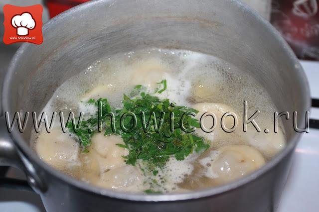 рецепт супа с пельменями с пошаговыми фото
