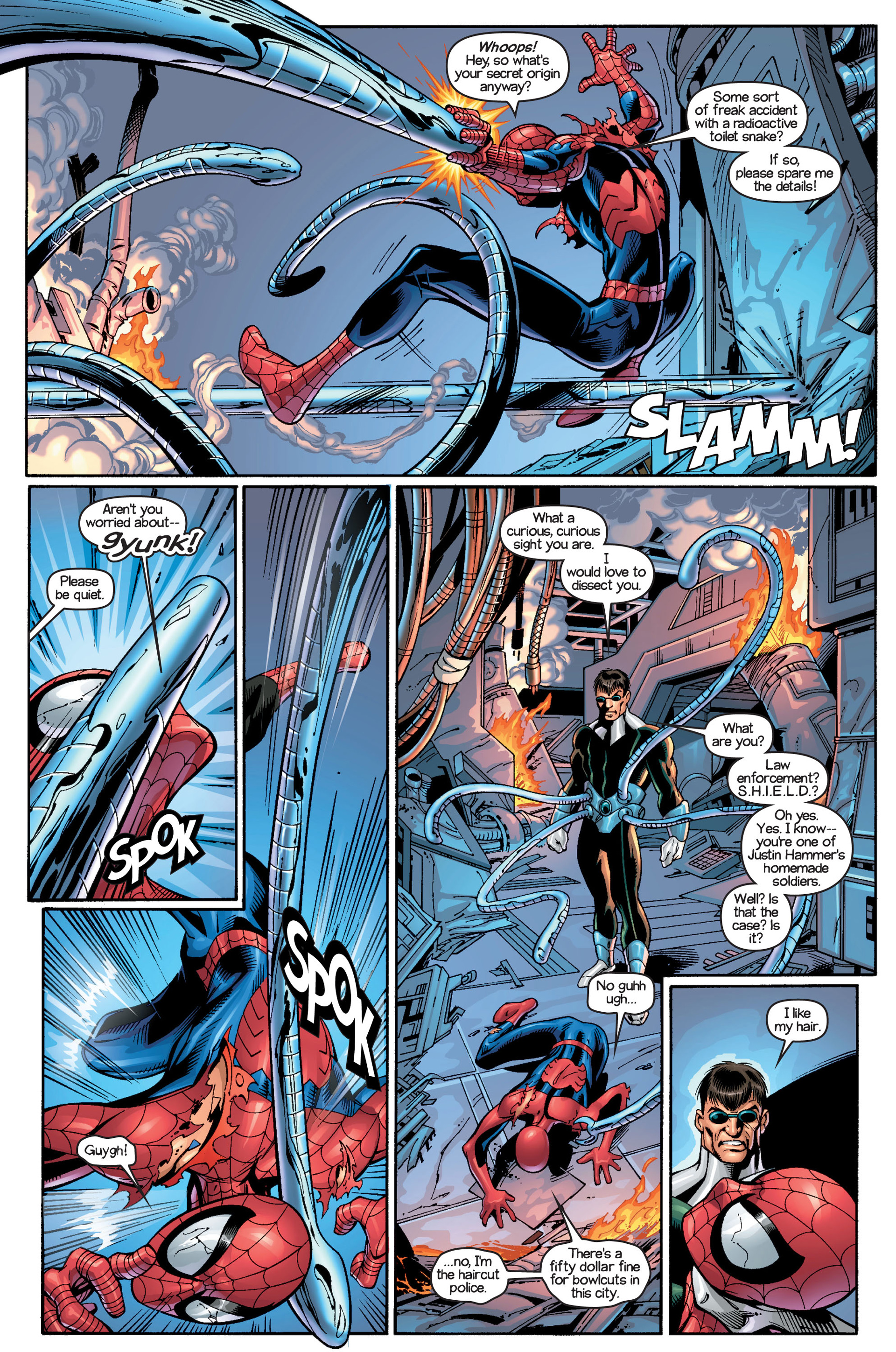 Read online Ultimate Spider-Man (2000) comic -  Issue #18 - 6
