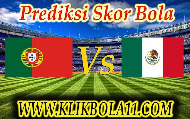 Prediksi Bola Portugal vs Meksiko 18-06-2017