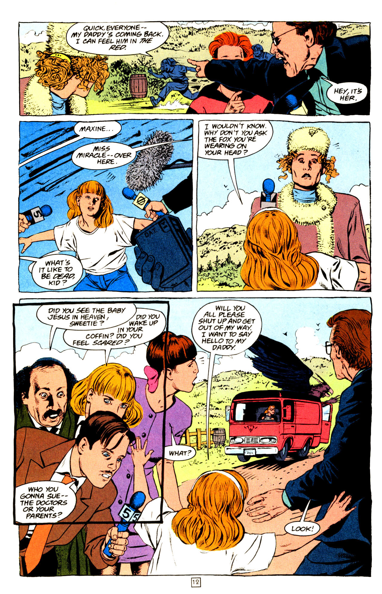 Read online Animal Man (1988) comic -  Issue #72 - 13