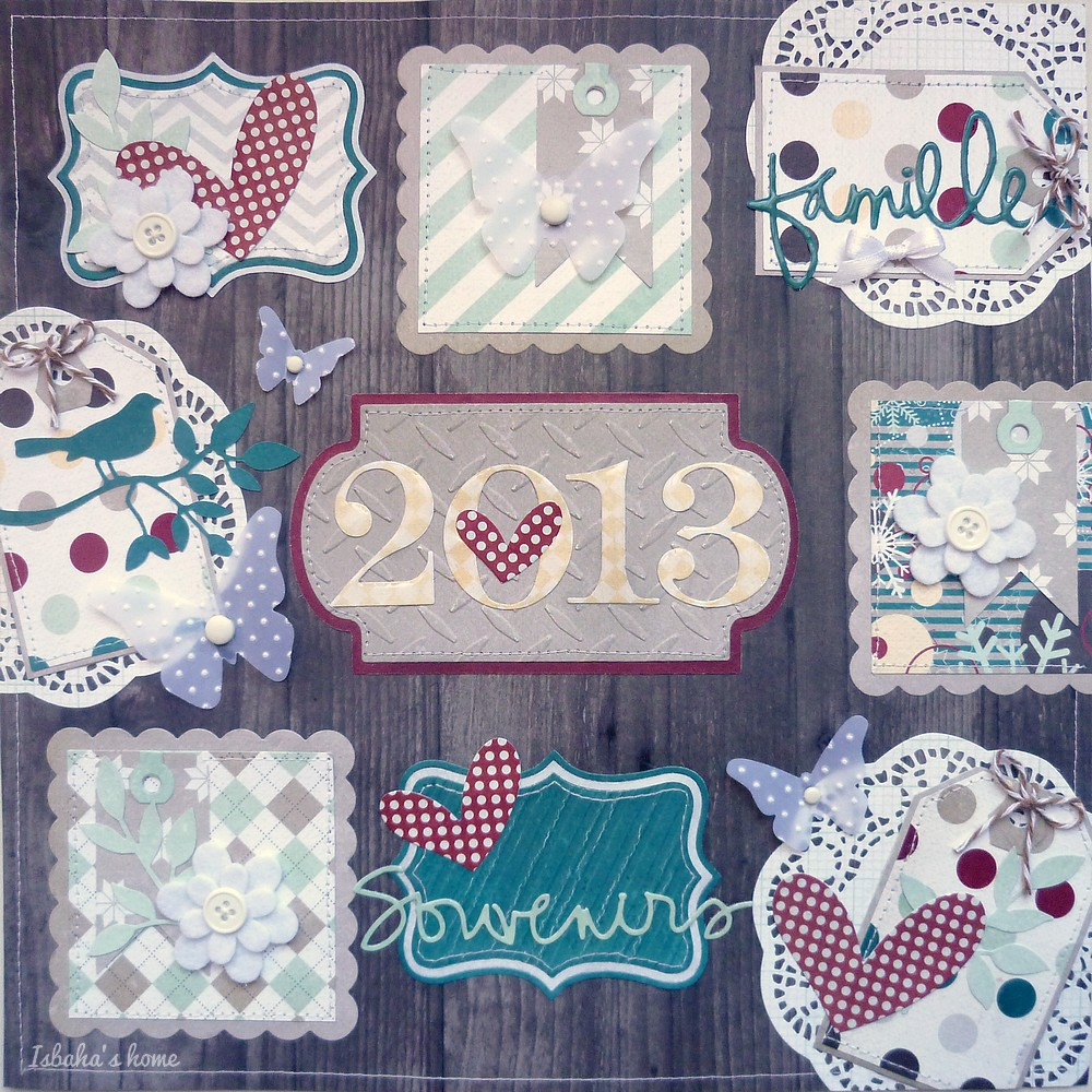 scrapbooking layout Fancy Pants Timbergrove
