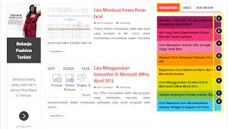 Cara Menghilangkan Nomor Urut Widget Popular Post Evo Magz