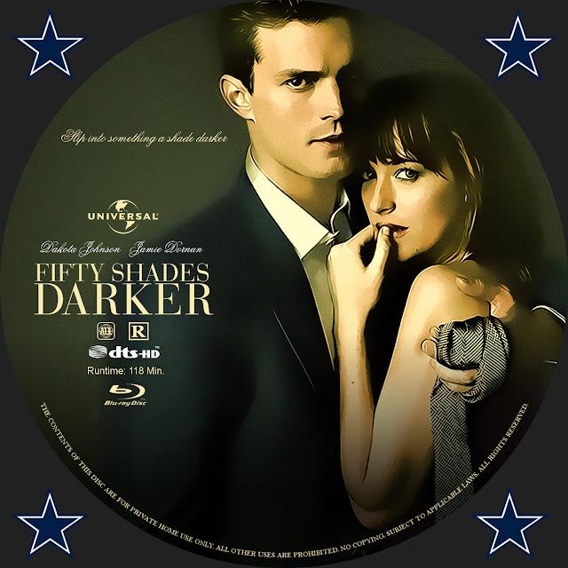 Fifty Shades Of Darker Bluray Label
