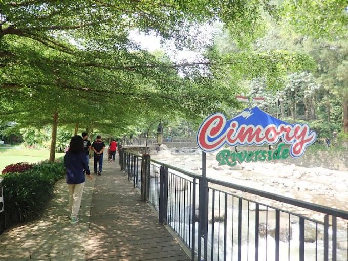 Cimory Riverside Puncak Bogor, Nikmatnya Makan di Pinggir Sungai Sekaligus Wisata Keluarga