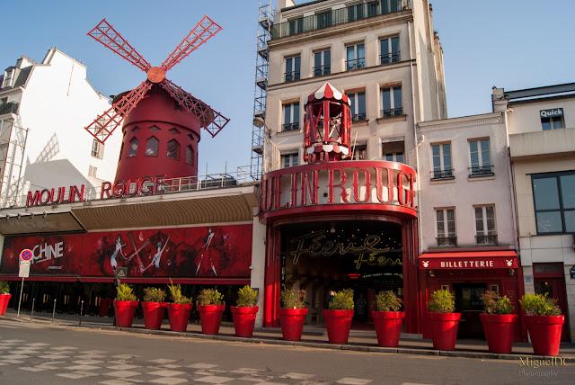 Molino Rojo, Moulin Rouge en París