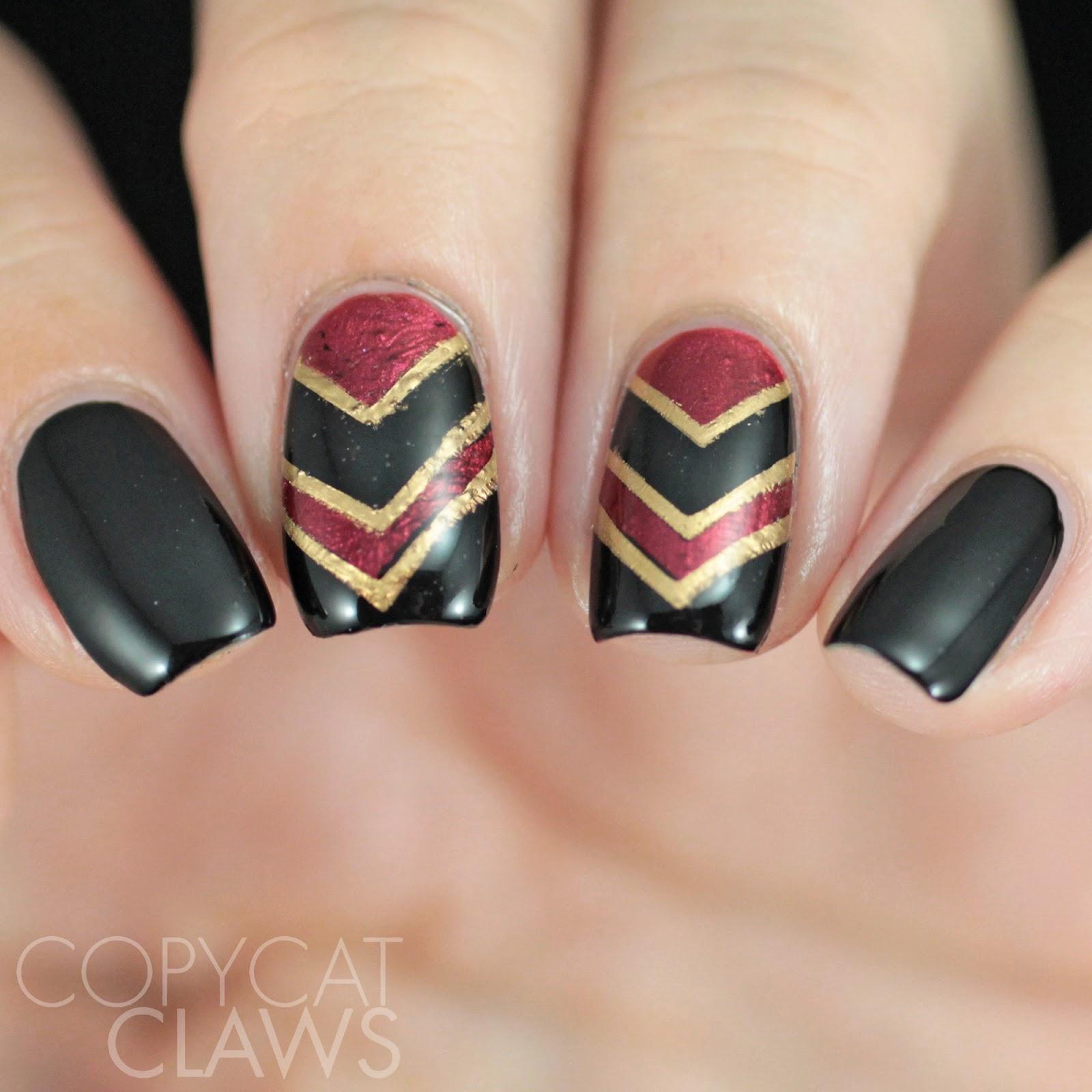 Copycat Claws: Nail Crazies Unite - Chevrons