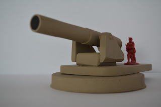WWI howitzer at 1/32 scale