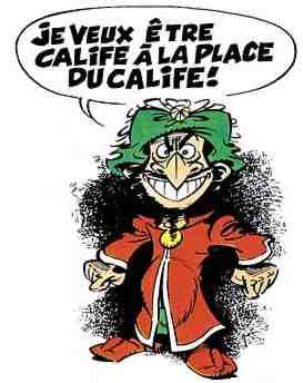 Calif à La Place Du Calif : calif, place, Grins:, Islamic, Comics:, Iznogoud
