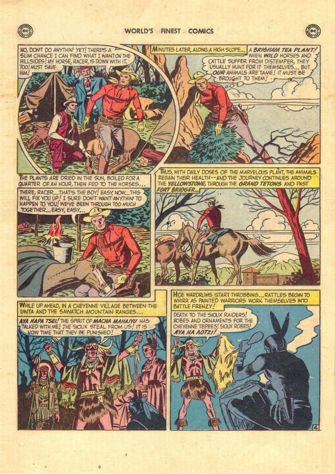 Read online World's Finest Comics comic -  Issue #52 - 20