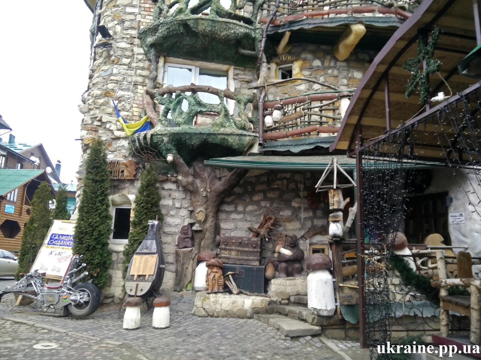 Отель Грибова хата Буковель