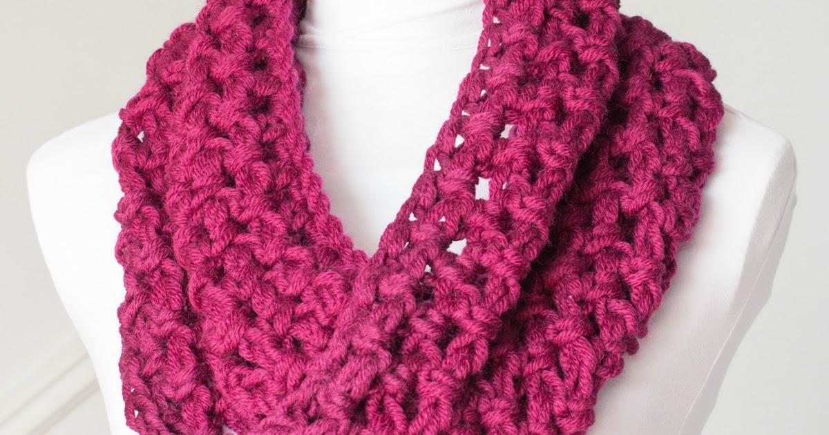 Beginner Crochet Patterns Cowl : Hopeful Honey Craft, Crochet, Create: Basic Chunky Cowl ...