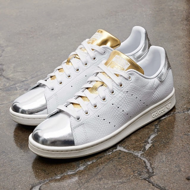 separation shoes e81a0 525ce Adidas Stan Smith Mid-Summer Metallic   Analykix