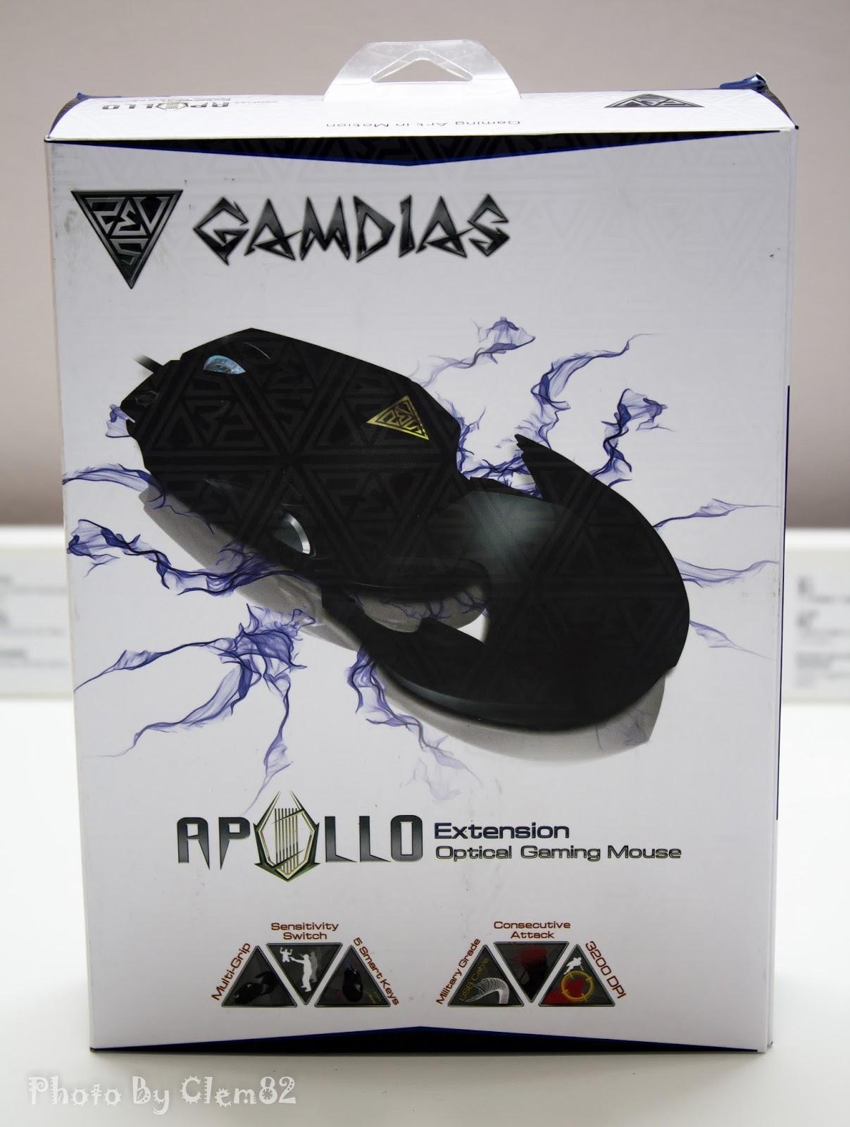Gamdias Apollo Extension Optical Gaming Mouse 55