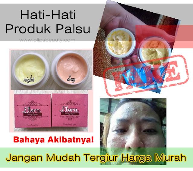 Bahaya Produk Cream Elora Palsu