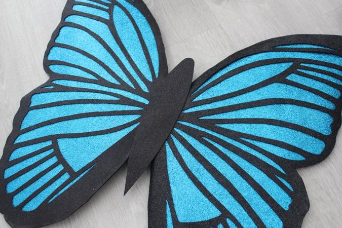Paso a paso disfraz de mariposa para carnaval