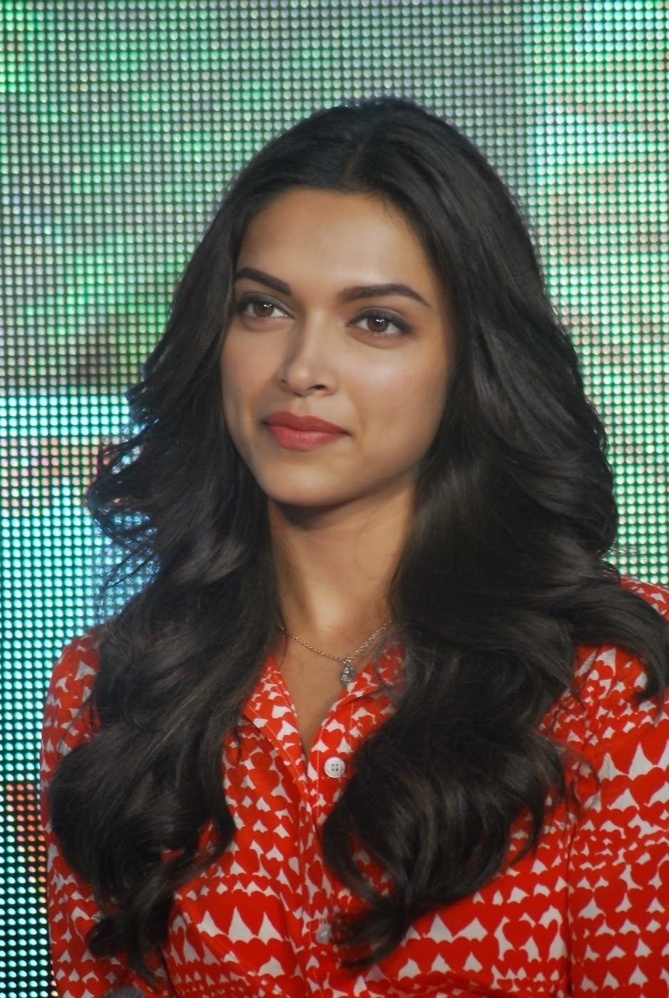 Deepika Padukone Hot Photos In Orange Dress