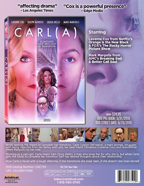 DVD & Blu-ray Release Report, Carl(a), Ralph Tribbey