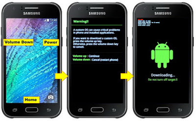 How To Flashing samsung J1 SM-J100H - Home Android