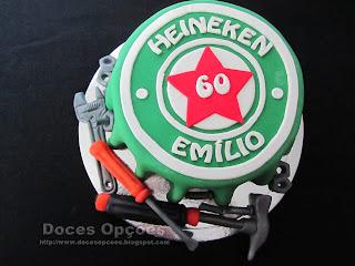 cake Heineken