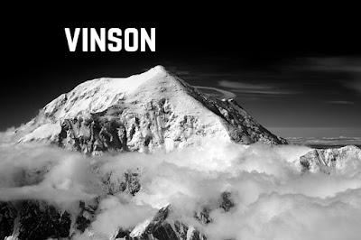 Gunung Vinson di Antartika
