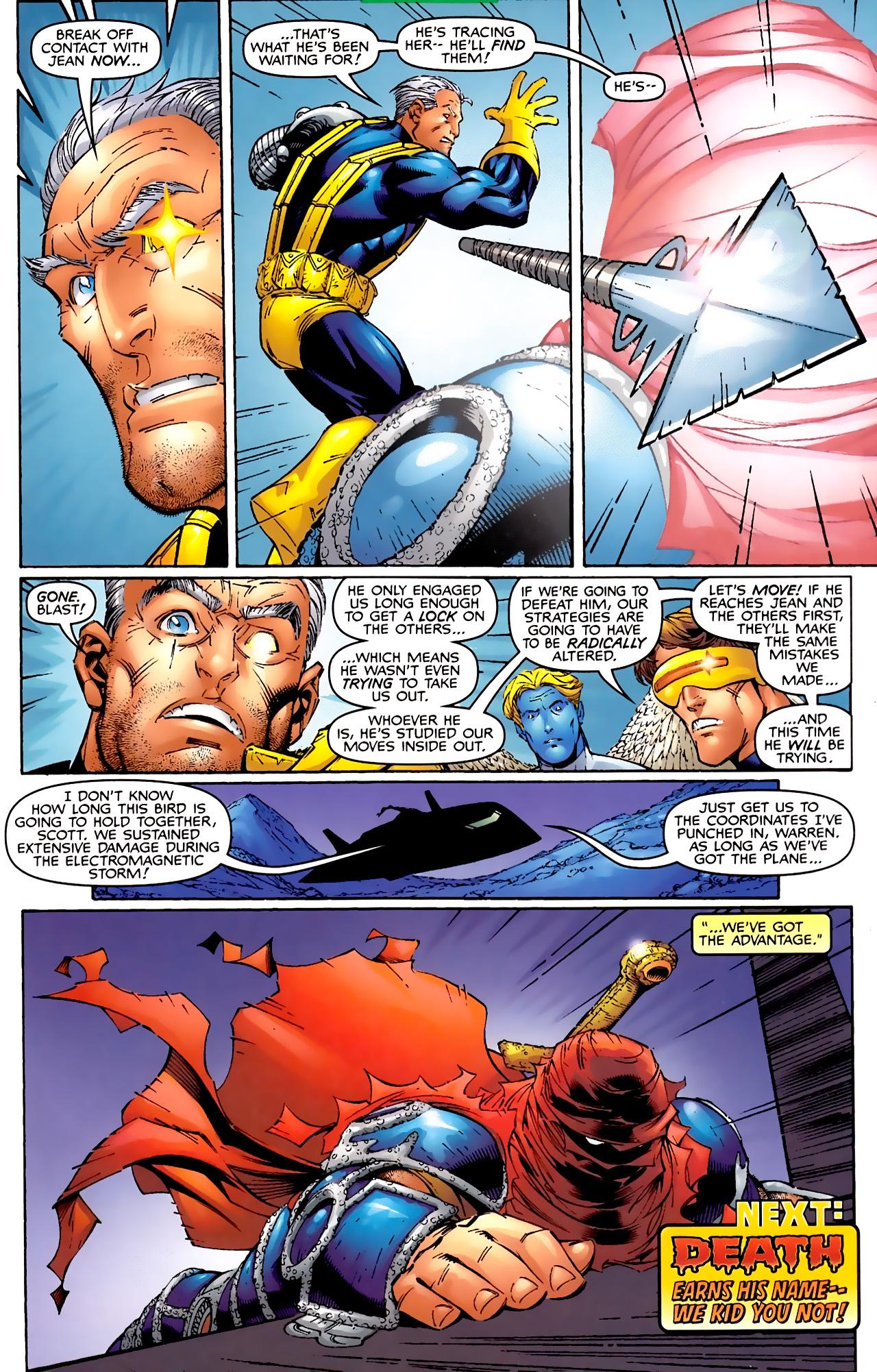 Read online Astonishing X-Men (1999) comic -  Issue #2 - 22