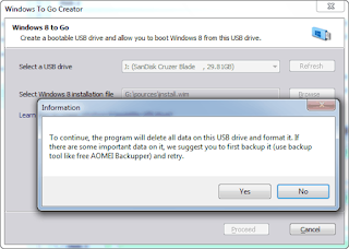 Creating Windows 8 Boot Disk with AOMEI Partition Assistant 7.1