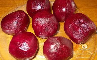 Preparare salata de sfecla rosie-etapa 2