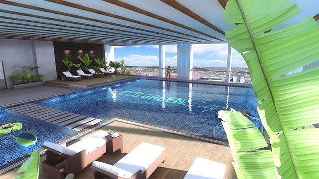 Bể bơi trong nhà Eco Green City