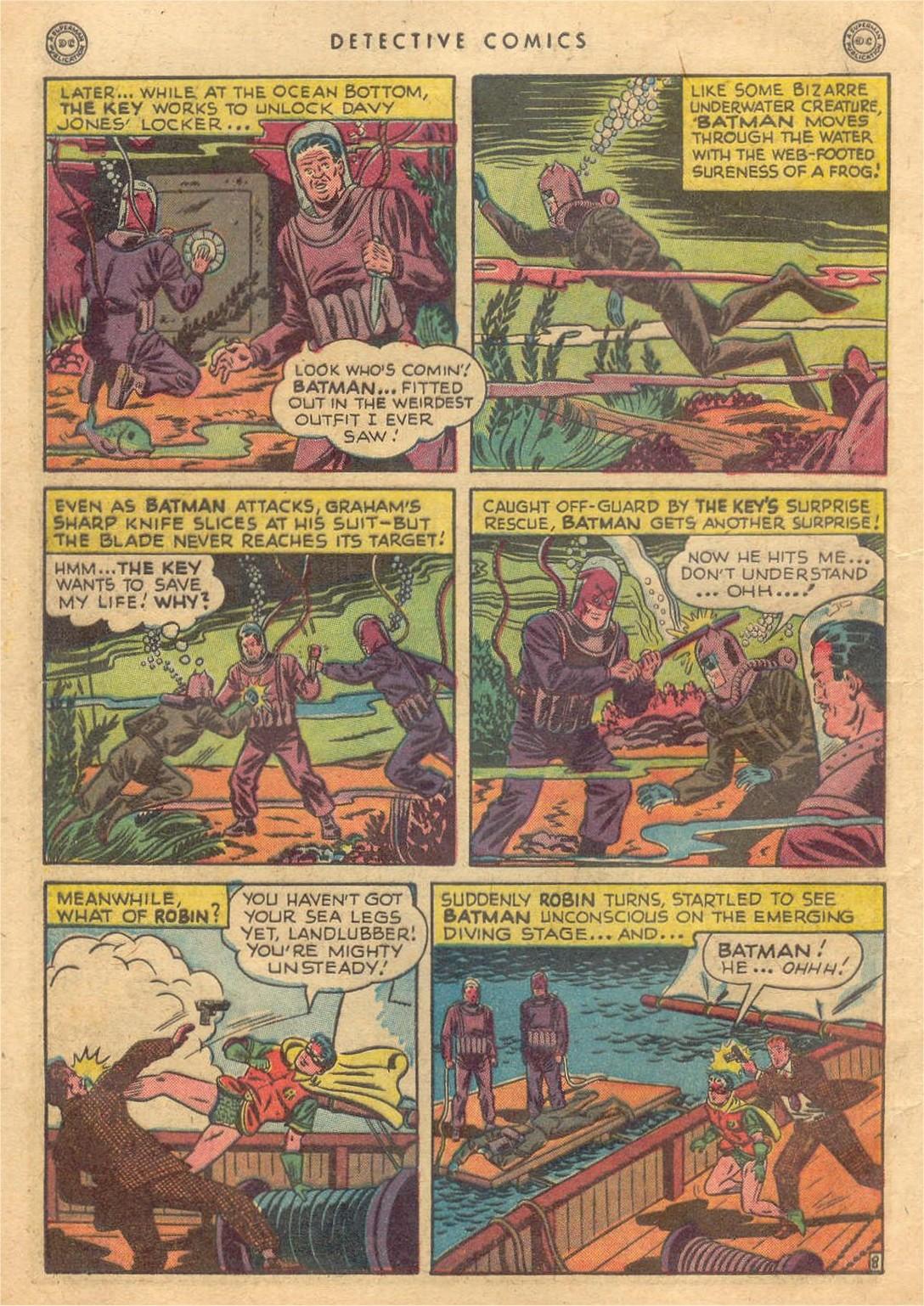 Read online Detective Comics (1937) comic -  Issue #132 - 10