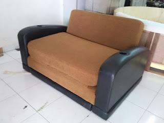 ganti kulit sofa bed bekasi