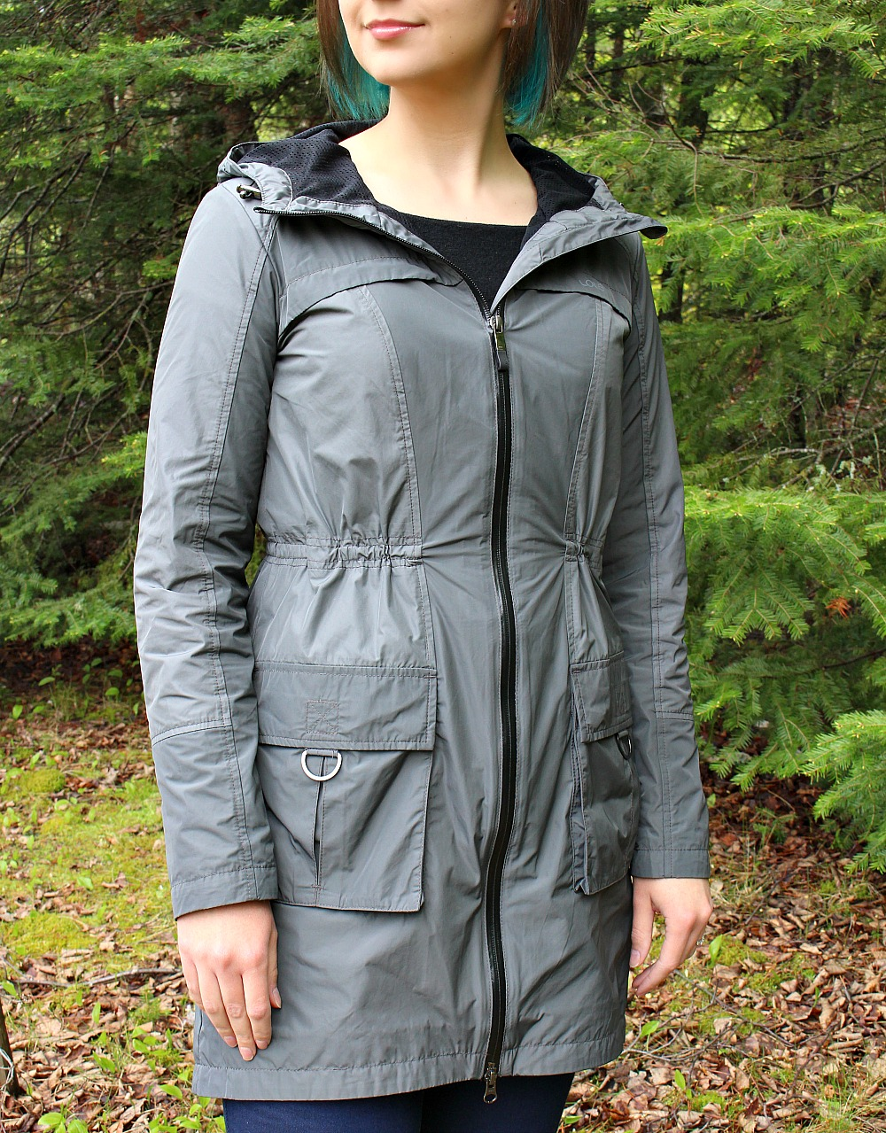 Photos of Lole Memory Jacket Charcoal Grey
