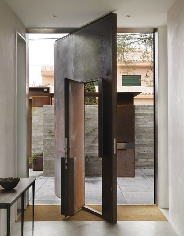 creative inspiration door designs for houses. In this post  we collect more than 50 inspiring modern front door ideas to help you in your main entrance Always remember a beautiful PHOTOS OF MODERN DOOR DESIGNS Bahay OFW