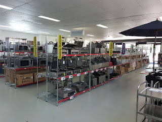 Inside Nisbets Catering Equipment Store, Townsville