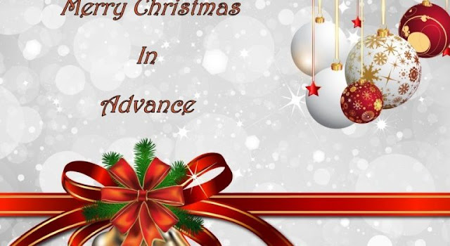 advance merry christmas sms