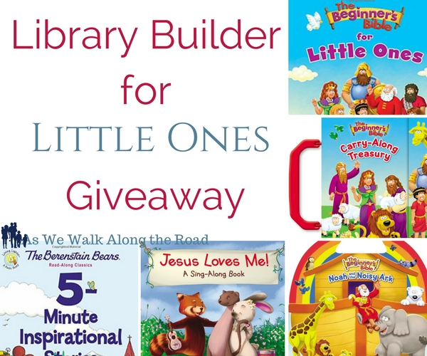 Giveaway of Zondervan books for little ones