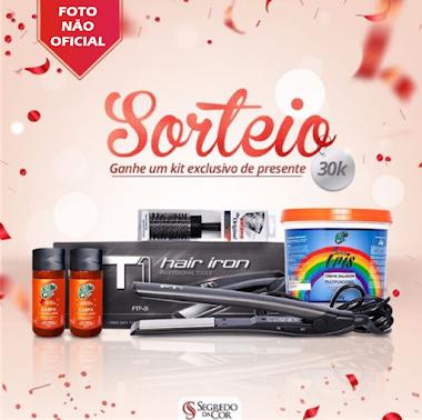 SORTEIO - Ganhe um kit exclusivo de presente