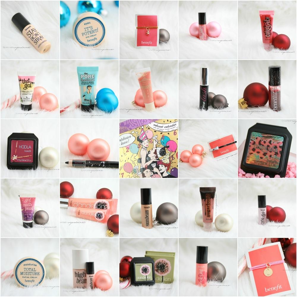 Benefit Weihnachtskalender.Review Countdown To Love Benefit Adventskalender Beauty Blog