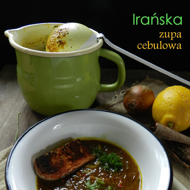 Zupa cebulowa (irańska)
