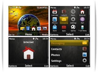 World themes for Nokia C3-00 X2-01 Asha 302 Asha 200 Asha 201